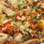 Spicy Thai Flatbread - med